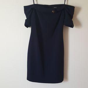 Badgley Mischka Off The Shoulder Dress for Sale in Crandon, WI