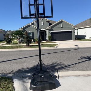 Life time basketball hoop for Sale in Haines City, FL