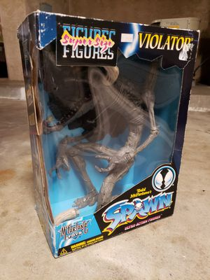 BRAND NEW 1997 VINTAGE HUGE SPAWN VIOLATOR COLLECTIBLE FIGURE MCFARLANE TOY TOYS for Sale in Chula Vista, CA