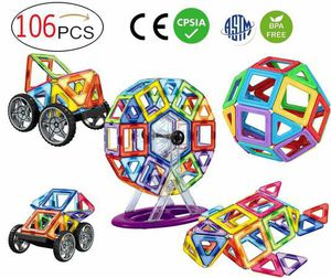 2X110 Piece Magnetic Tiles magnetic Building Blocks Toys for Kids for Sale in Rancho Cucamonga, CA