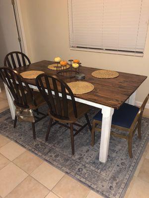 Farm style kitchen table for Sale in Visalia, CA