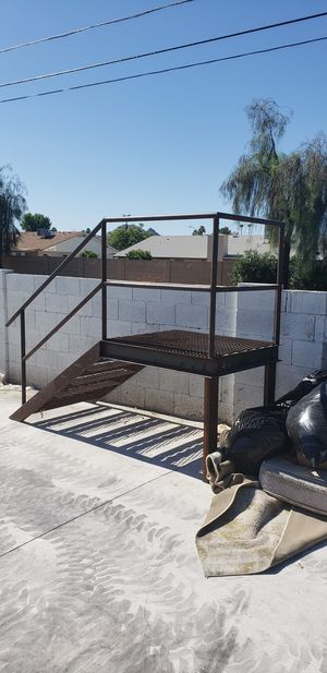 Quality metal Stairs and rail great for loft or trailer or tree house for Sale in Glendale, AZ