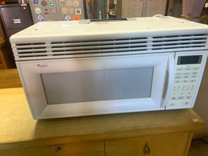 Microwave (white) for Sale in Harrisburg, PA