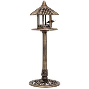 Standing Pedestal Bird Feeder For Outdoor Garden Decor for Sale in Santa Clarita, CA
