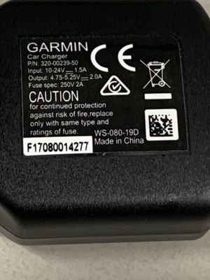 Garmin Gps car charging cable for Sale in Bloomingdale, IL