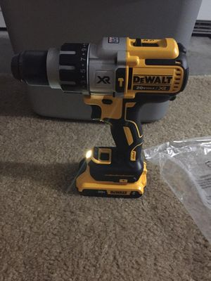 Dewalt xr drill with battery for Sale in Stockton, CA