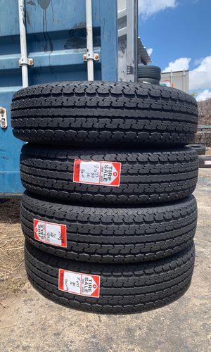 4 st 235/80/16 tow max trailer tire 10 ply 95% for Sale in Houston, TX
