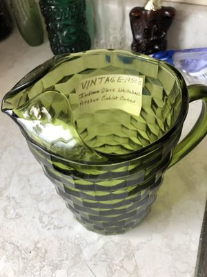 1950's Whitehall Glass Pitcher for Sale in Cincinnati, OH