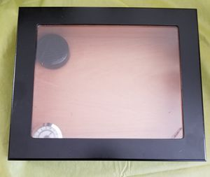 Humidor with hygrometer and humidifier for Sale in El Mirage, AZ