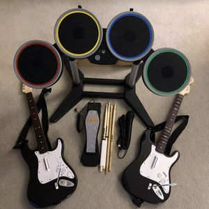 Rock Band Wireless Instrument Set for Xbox One for Sale in Monroe, WA