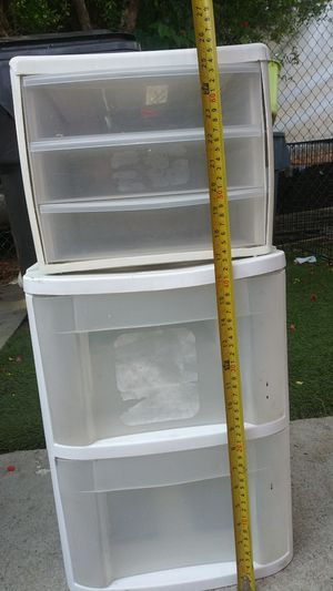 Plastic drawer for Sale in Long Beach, CA