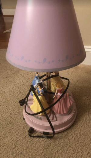 Disney Princess Lamp for Sale in Nolensville, TN