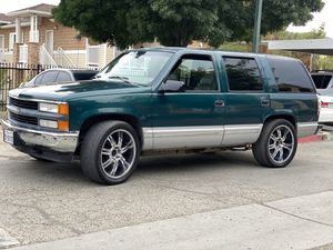 1997 Chevy Tahoe 4x4 for Sale in Hanford, CA