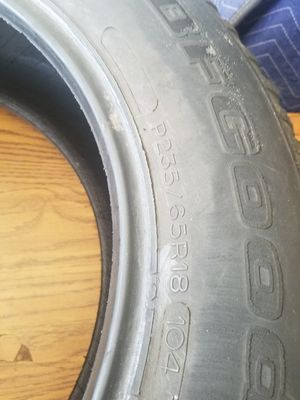 Tires 235 65 r18 for Sale in Lexington, KY