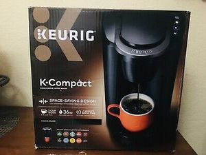 Keurig K compact brand new in box newest model never used coffee machine coffee maker k cup k pod for Sale in Dearborn, MI