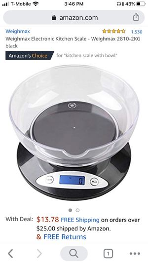 Brand New Digital Kitchen Scale for Sale in Seattle, WA
