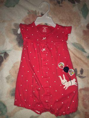 9 months - Carters baby girl bodysuit for Sale in Oak Lawn, IL