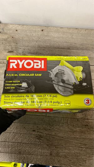 RYOBI 13 Amp Corded 7-1/4 in. Circular Saw for Sale in Glendale, AZ