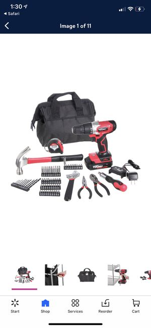 Cordless drill tool kit 20 volt max for Sale in New Market, MD