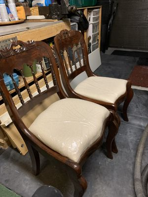 2 Antique accent chairs for Sale in Swampscott, MA