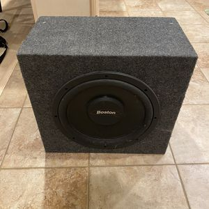 "Subwoofer - Boston 12"" for Sale in Seattle, WA"