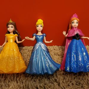 Disney Princess Clip Dress Dolls for Sale in Clovis, CA