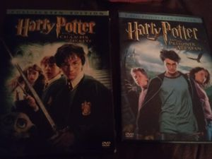 Harry Potter and the Chamber of Secrets and Potter and the Prisoner of Azkaban for Sale in St. Petersburg, FL