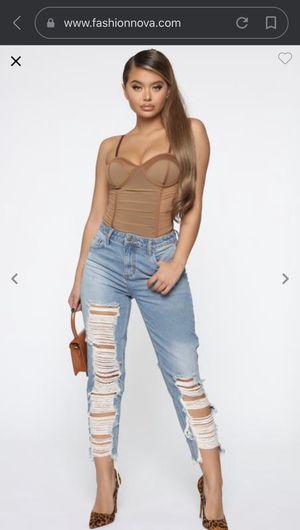 Fashion nova jeans for Sale in Highland, CA