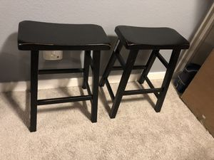 """Bar Stool 24"""" Saddle Seat Chair for Sale in Seattle, WA"""