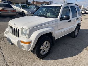 4WD Jeep Liberty Limited with 119,000 miles for Sale in Indianapolis, IN