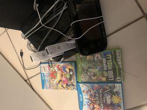Nintendo 64gb Wii U black for Sale in Hialeah, FL