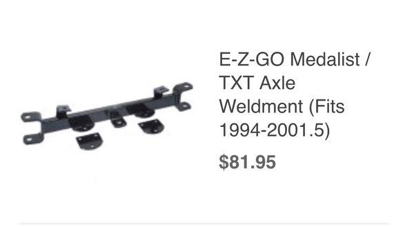 EZGO Golf Cart stock Front axle 1994-2001 TXT