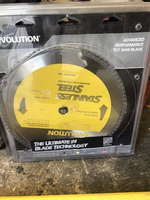 Evolution ss saw blade 90teeth for Sale in Portland, OR