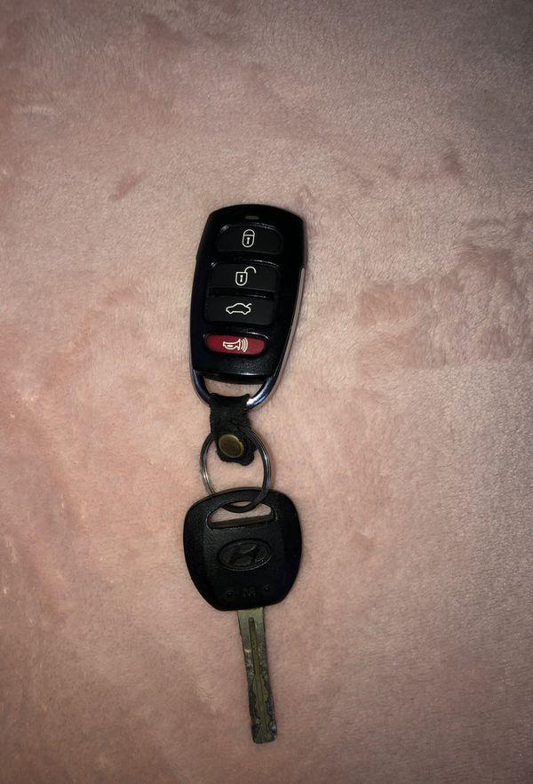 hyundai azera 2006 remote control car key
