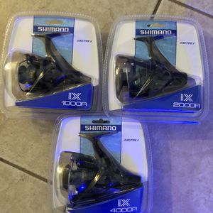 Brand New Shimano Rods And Reels for Sale in Sun City, AZ