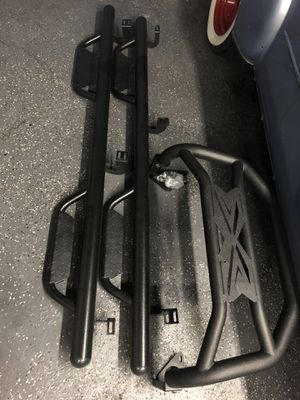2016-2019 Toyota Tacoma bull bar and running boards for Sale in Huntington Beach, CA
