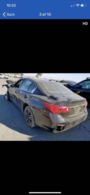 2014 Infiniti Q50 parting out parts car 14 15 16 for Sale in Rancho Cordova, CA