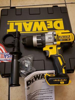 DEWALT 20-Volt MAX XR Lithium-Ion Cordless 1/2 in. Premium Brushless Hammer Drill Y CAJA TAMBIÉN(Tool-Only) for Sale in Anaheim, CA