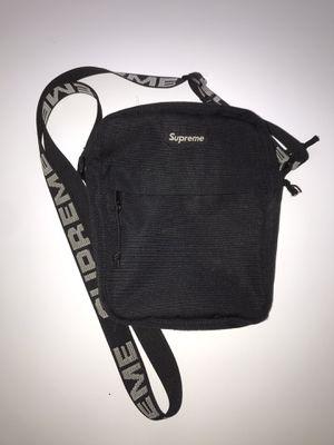 SUPREME Shoulder Bag (SS18) Black for Sale in St. Petersburg, FL