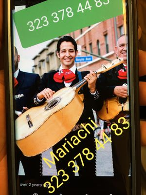 Music Mariachi for Sale in Los Angeles, CA