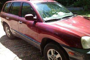 2002 Hyundai Santa Fe for Sale in Boyne City, MI