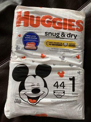 Huggies size 1 for Sale in Boston, MA