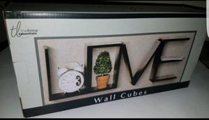 New-LOVE Wall Cube Shelves for Sale in St. Louis, MO