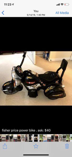 fisher price power bike for kids for Sale in Richmond, VA