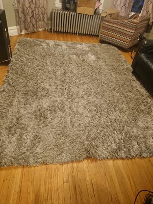 8 x 10 Grey Shag Rug for Sale in Chicago, IL
