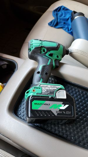 Metabo 18volt Cordless Impact Driver - WH18DBFL2 - Multi Volt Lithion Ion Battery 36v/18v for Sale in Greensboro, NC