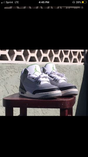 Air Jordan 3 Retro chlorophyll for Sale in Phoenix, AZ