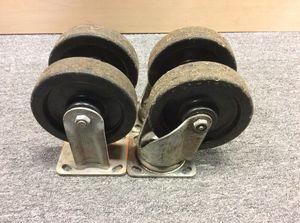 Casters Heavy Duty for Sale in Hamtramck, MI
