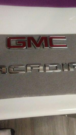 2012 GMC Acadia emblems $40. for Sale in Rialto, CA