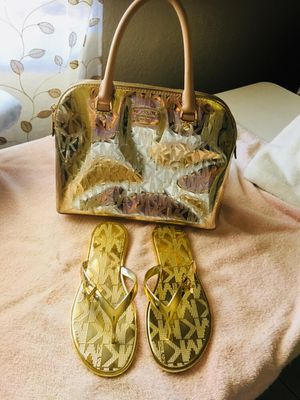 Michael Kors Purse and Sandals for Sale in Phoenix, AZ